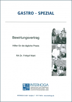 Bewirtungsvertrag