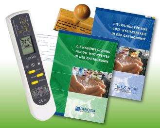 DEHOGA-HACCP-Hygiene-Kombi mit italienischer Leitlinie