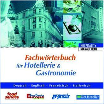 CD-ROM - Fachwörterbuch für Hotellerie & Gastronomie