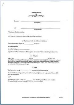 Dehoga Shop Arbeitsvertrag Für Geringfügig Beschäftige Nrw